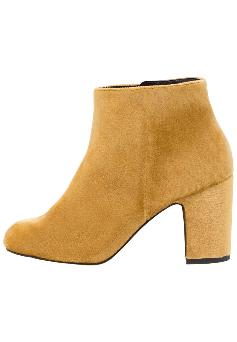 New Look Wide Fit WIDE FIT BELVETEEN Ankle boot dark yellow - 5499596