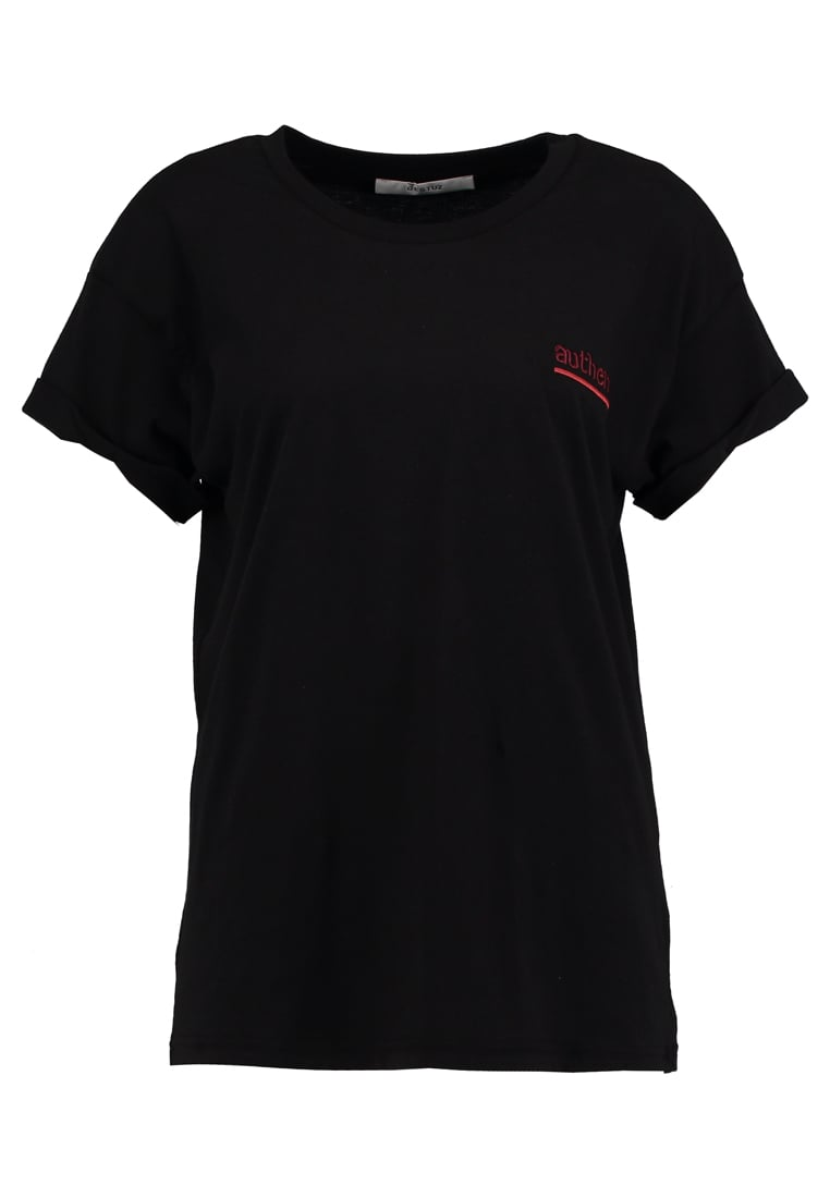 Gestuz AUTHENTIC Tshirt z nadrukiem black - 10901153