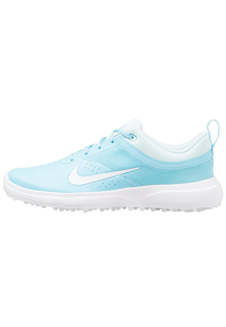 Nike Golf AKAMAI Buty do golfa vivid sky / white / gulf blue - 818732