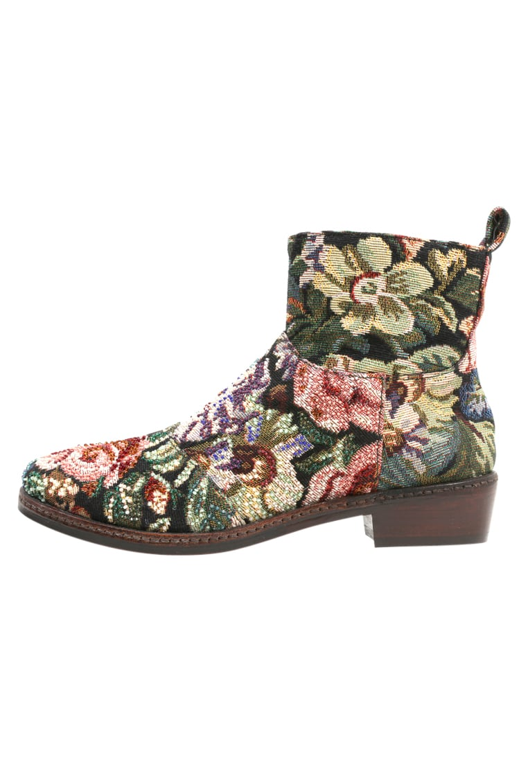 Coral Blue TEXAN BOOT Botki green/multi coloured - CB.K317.12
