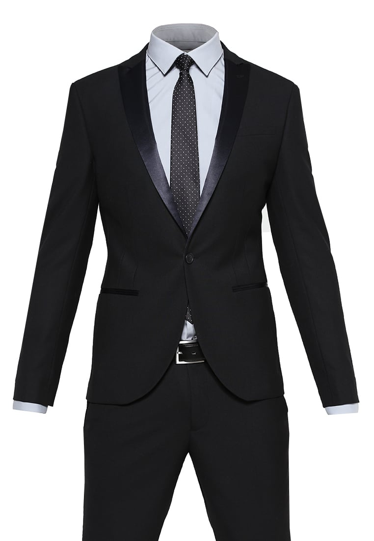 Noose & Monkey DUNSTER Garnitur black - Dunster Black Tuxedo Suit