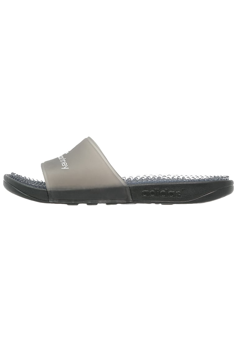 adidas by Stella McCartney ADISSAGE Sandały kąpielowe core black/white - CEK65