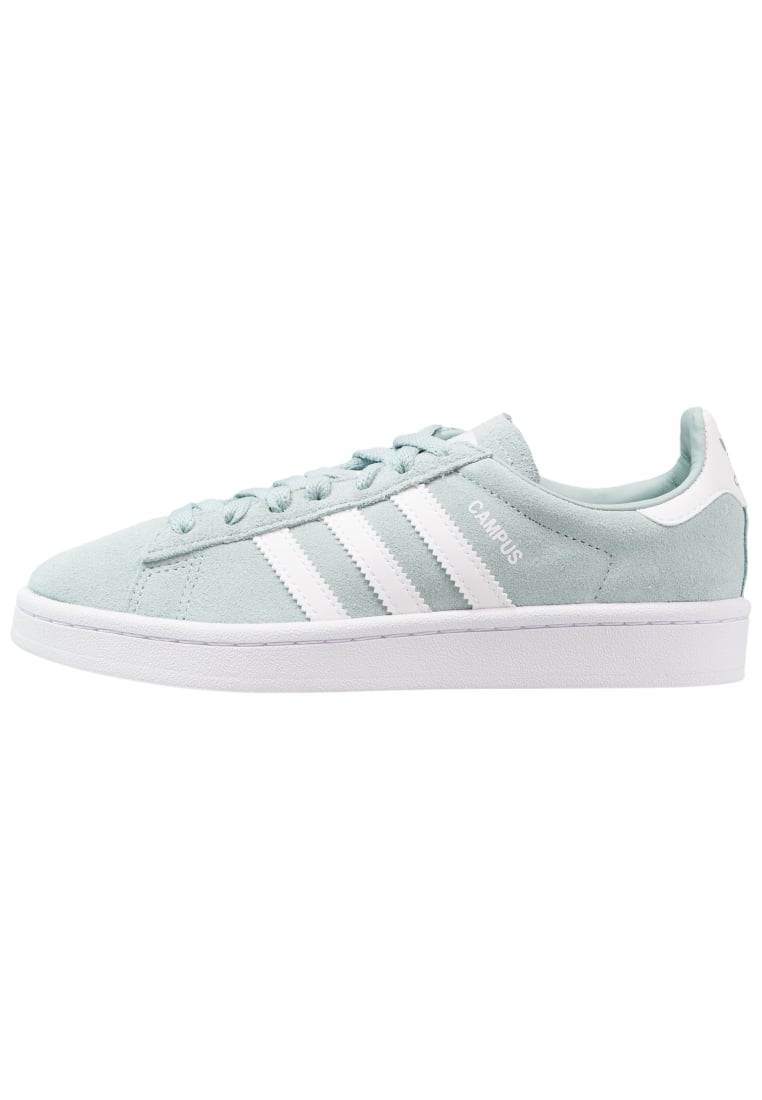 adidas Originals CAMPUS Tenisówki i Trampki tactile green/footwear white - CEF63
