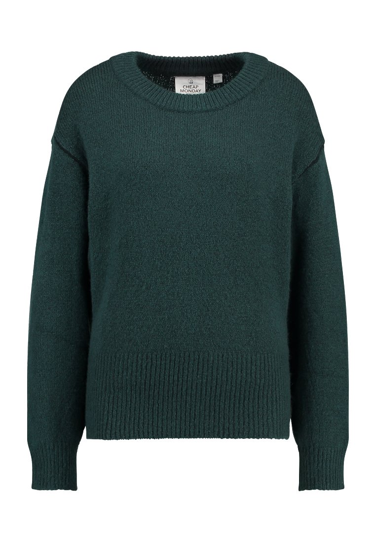 Cheap Monday BURN Sweter pine green - 0481295