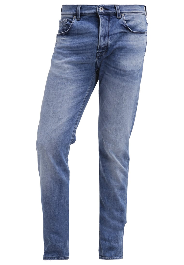 7 for all mankind CHAD Jeansy Straight leg light blue - SD3L390