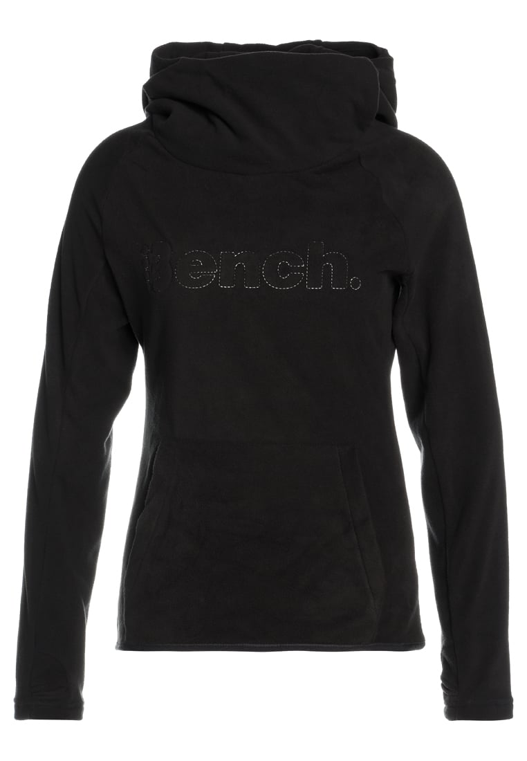 Bench OVERHEAD HOODY Bluza z polaru black beauty - BPWE000127
