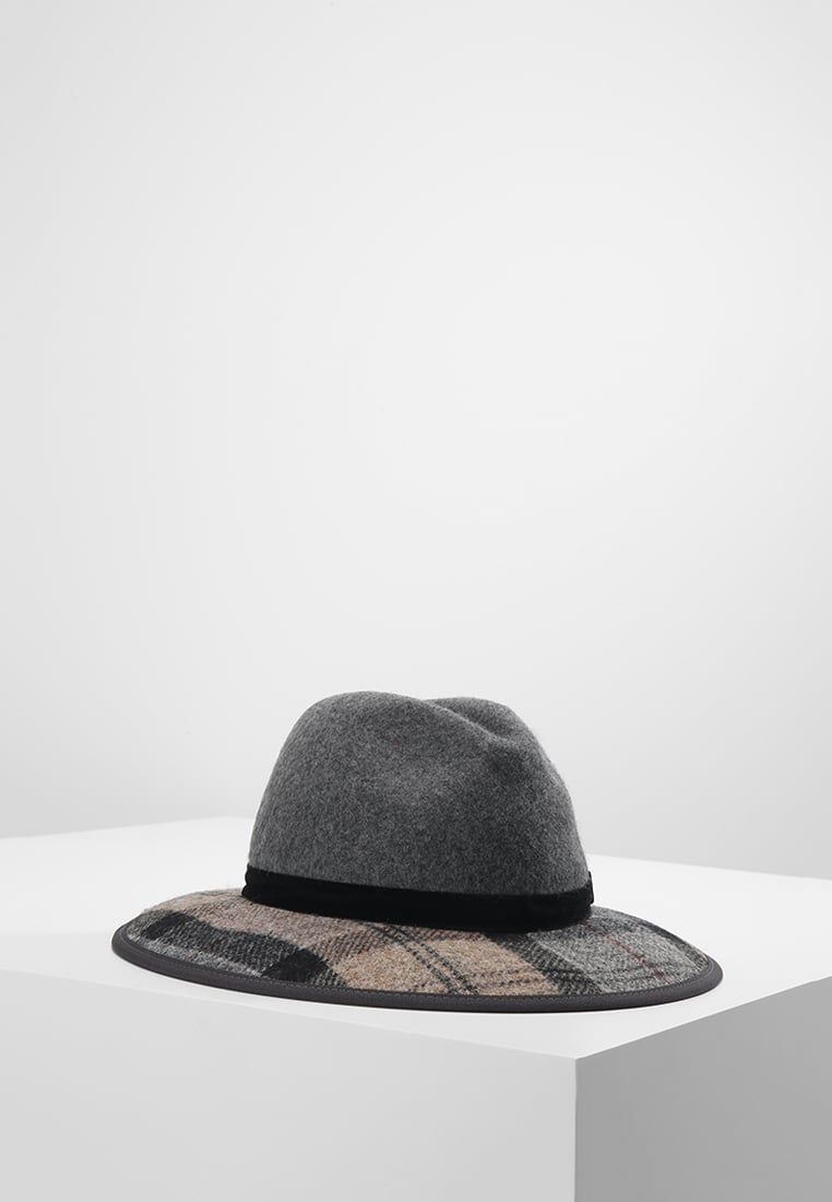 Barbour THORNHILL FEDORA Kapelusz grey/winter - LHA0337