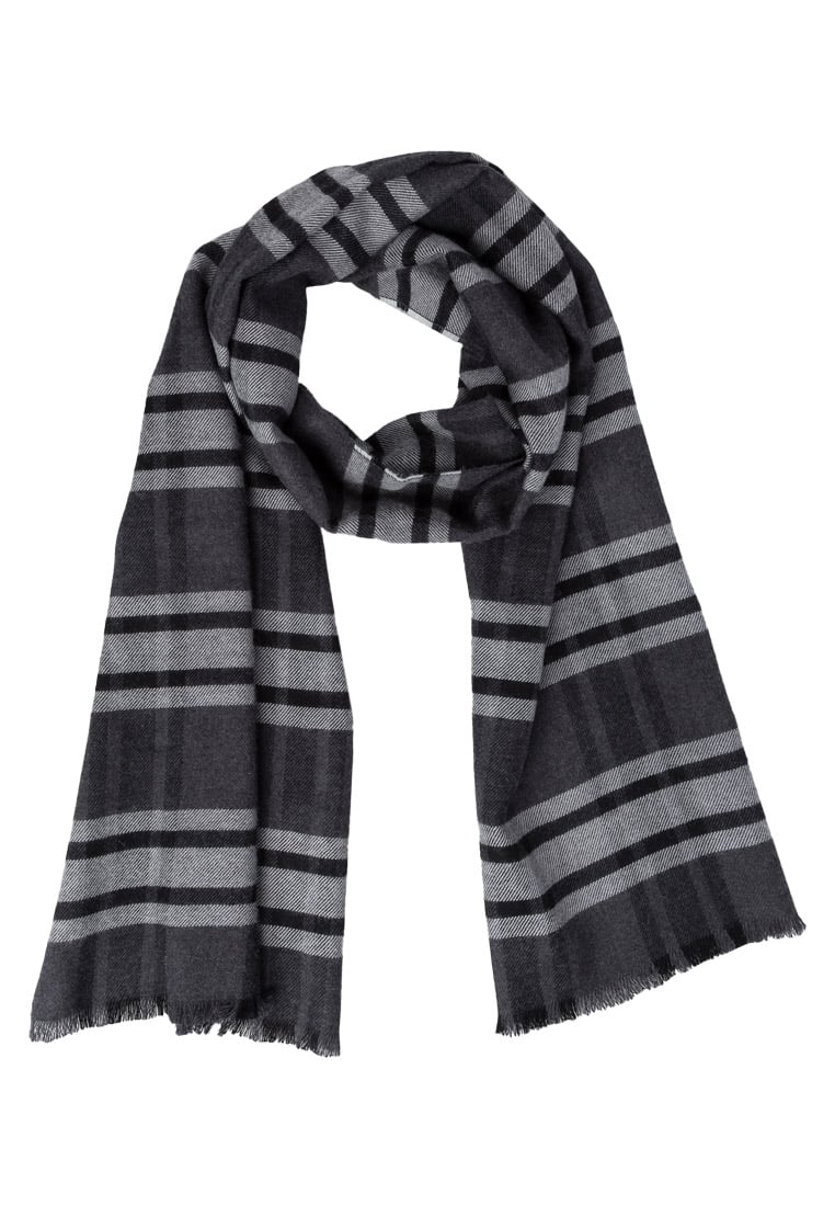 Johnstons Cashmere MORRISTON Szal dark check - WD000446