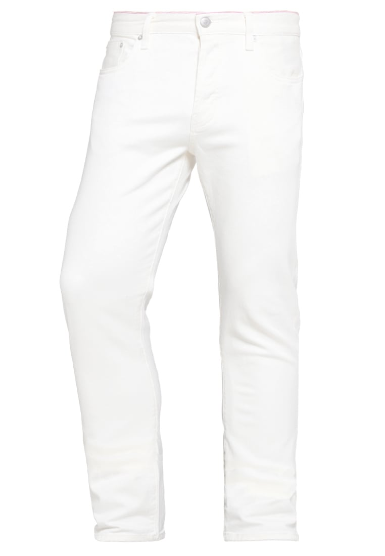 Earnest Sewn BRYANT SLOUCHY Jeansy Slim fit off white - 1V040152-405