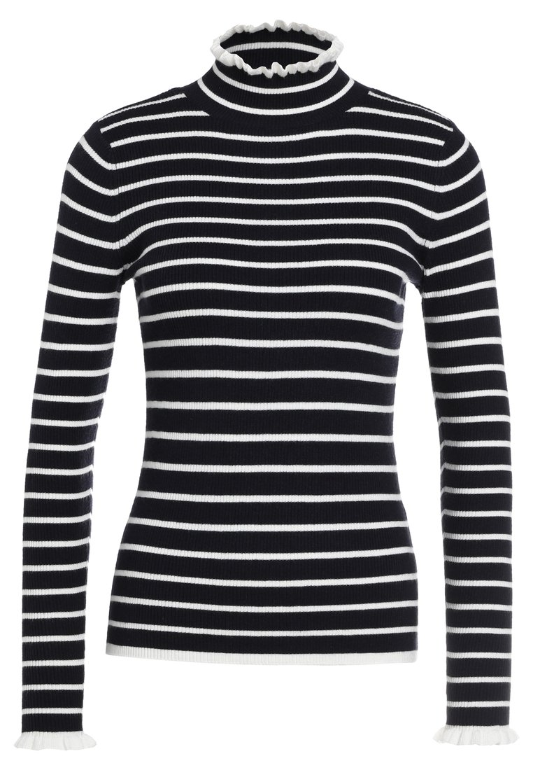 Club Monaco AMARI Sweter navy/white - 295687087