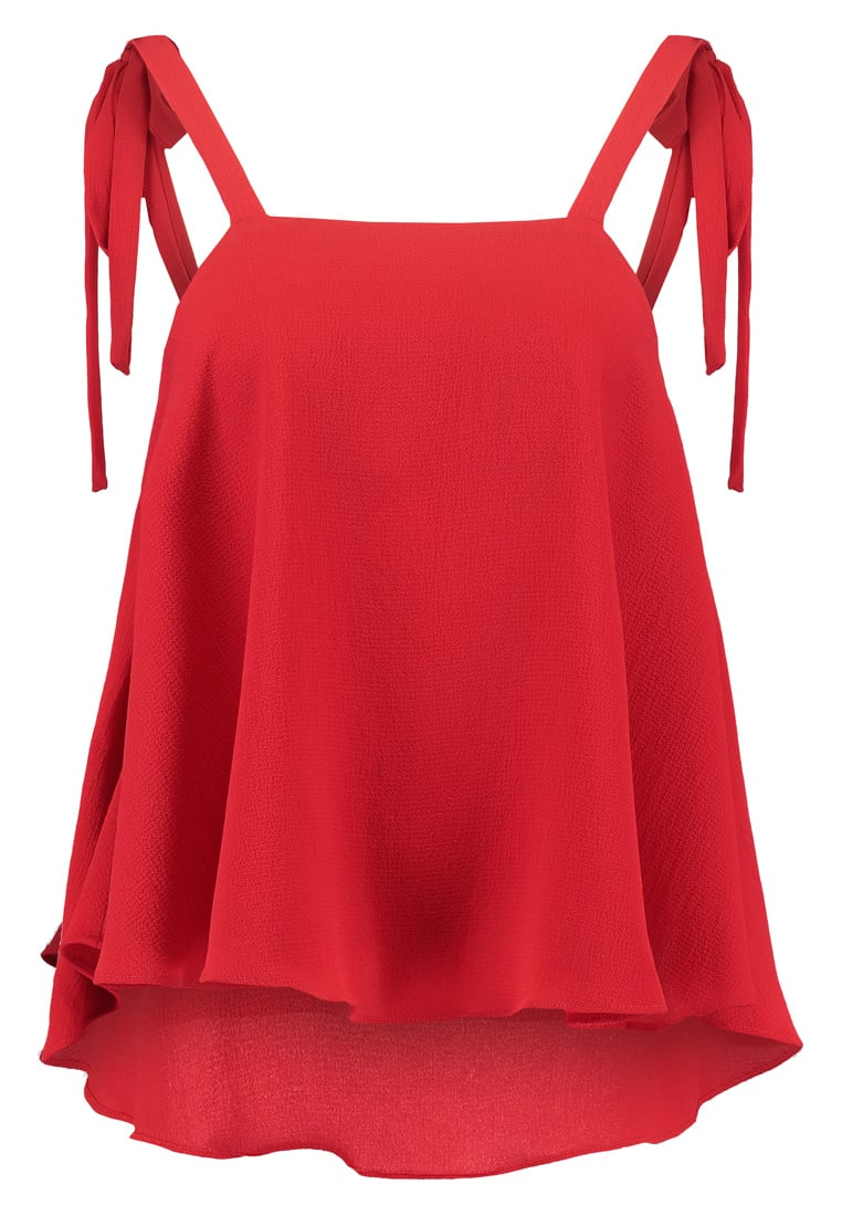 Glamorous Tall FLARE Top red - CK4026T