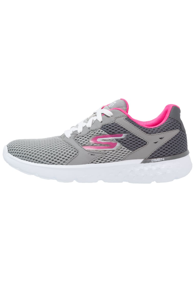 Skechers Performance GO RUN 400 Buty do biegania treningowe hellgrau - 14350