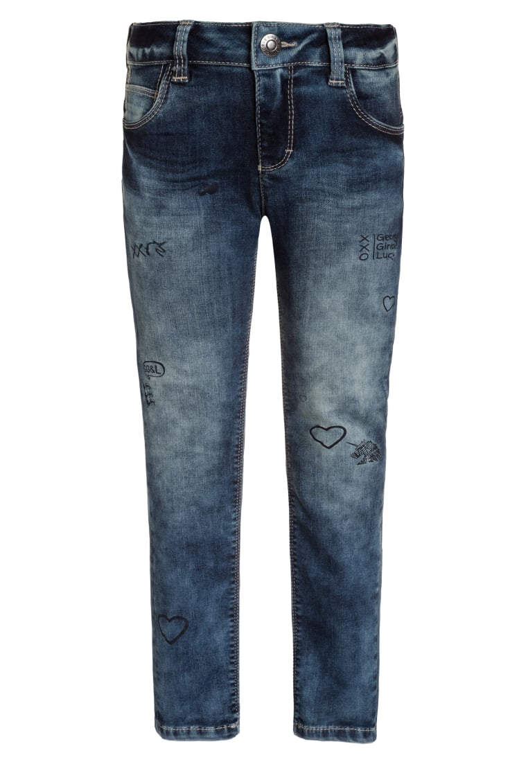 GEORGE GINA & LUCY girls BERLIN Jeansy Slim fit fancy blue - 50178
