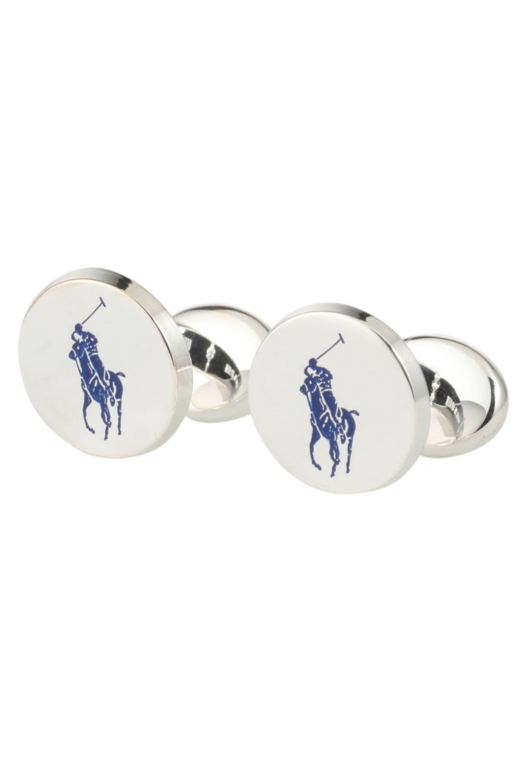 Polo Ralph Lauren PONY Spinka do mankietów blue/silvercoloured - A72ACUFOM0050