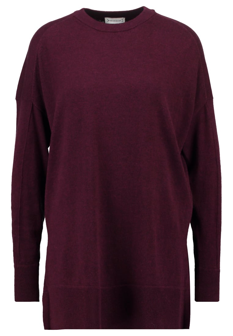 Warehouse BOXY Sweter berry - 63026428
