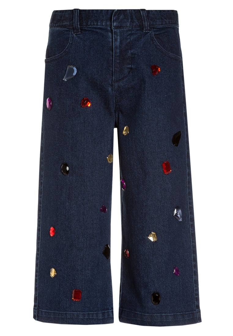 Sisley TROUSERS Jeansy Relaxed Fit blue denim - 4AUI575Q2