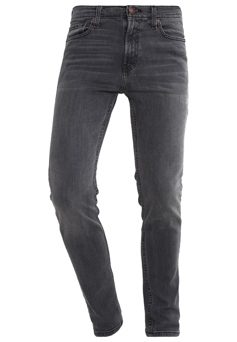 Hollister Co. Jeansy Slim fit dark grey - KI331-5137