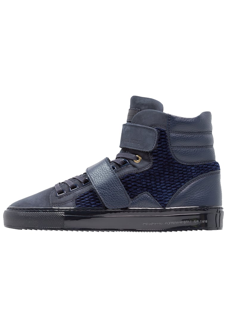 Android Homme PROPULSION Tenisówki i Trampki wysokie navy - AHP1606023
