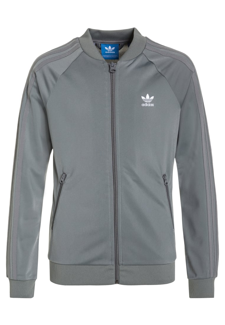 adidas Originals SUPERGIRL Kurtka sportowa grey three/white - EBR91