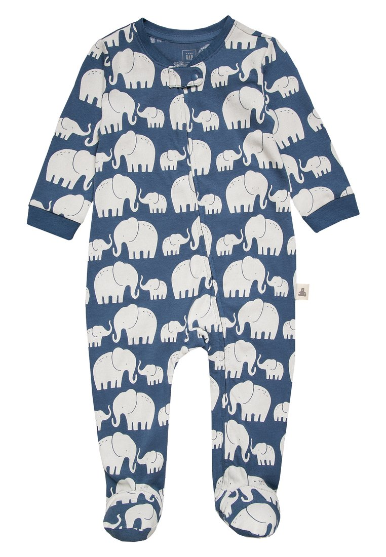 GAP ZIP NEWBORN Śpioszki cornflower - 230084