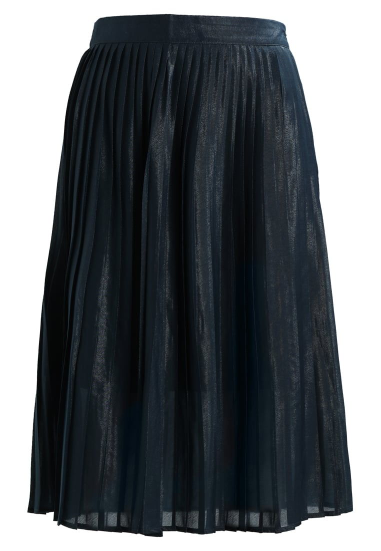 White Stuff EDIE PLEAT SHIMMER SKIRT Spódnica trapezowa dark blue - 421165