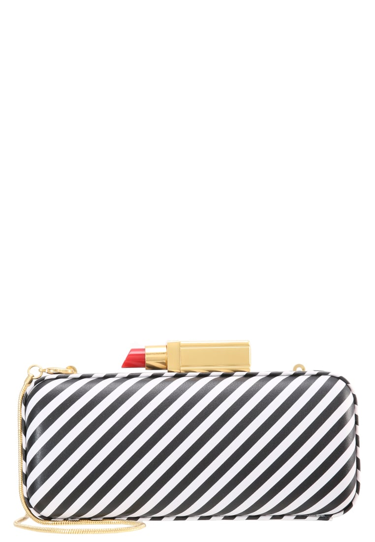 Lulu Guinness CARRIE Kopertówka black/white - 50122462