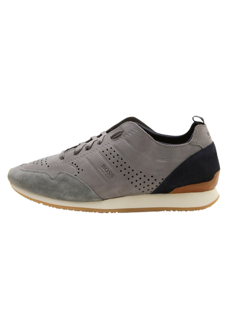 BOSS Orange ADRENAL RUNN Tenisówki i Trampki medium grey - 50379609