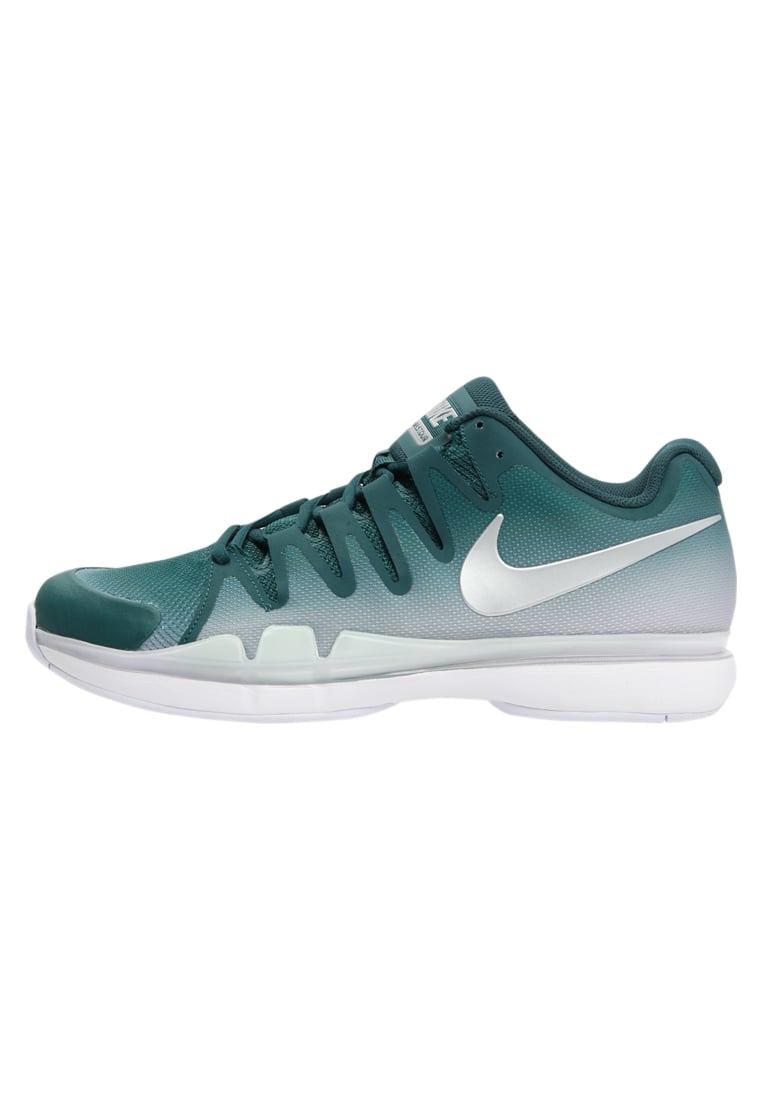 Nike Performance ZOOM VAPOR 9.5 TOUR Buty do tenisa Outdoor dark atomic teal/metallic silver/white summit - 631458