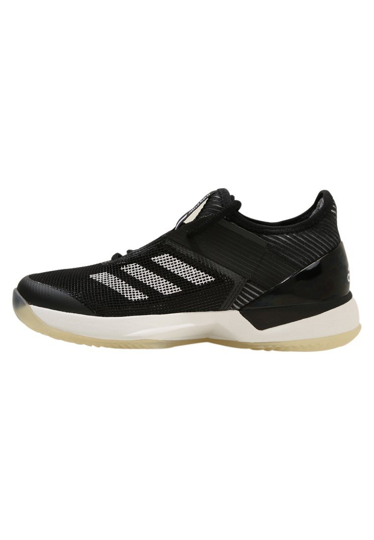 adidas Performance ADIZERO UBERSONIC 3 W CLAY Buty do tenisa Outdoor black/white - CDA39