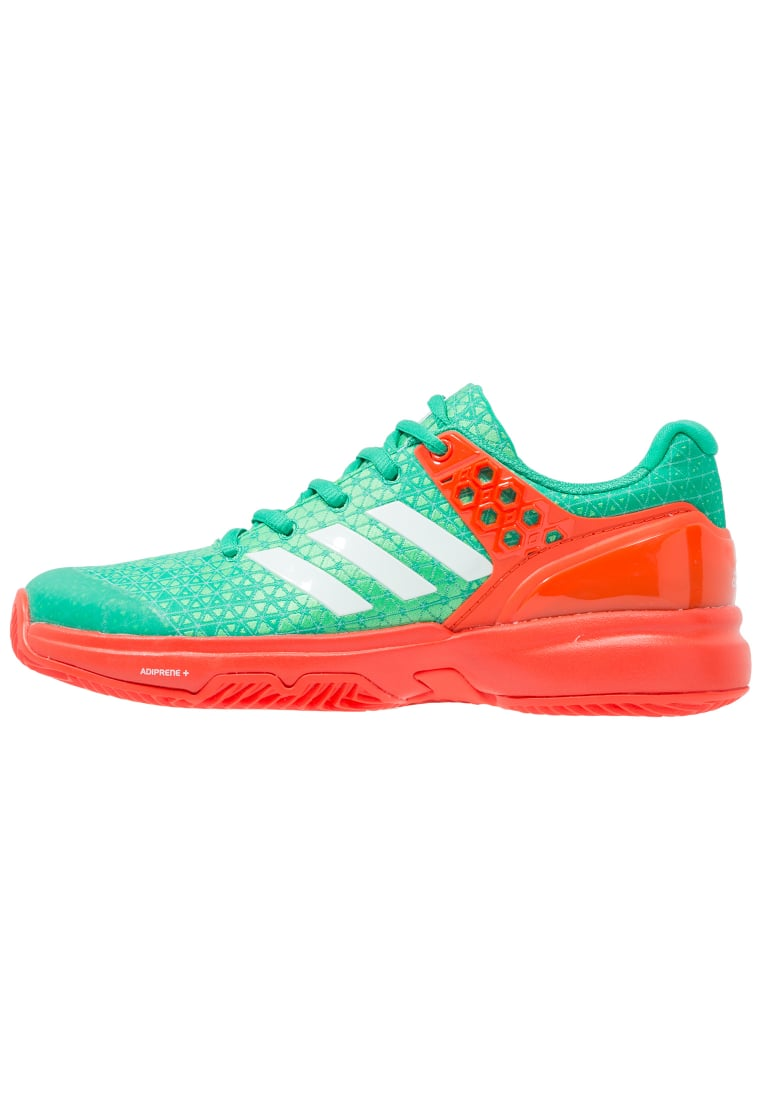 adidas Performance ADIZERO UBERSONIC 2 CLAY Buty do tenisa Outdoor core green/white/energy - KDJ16