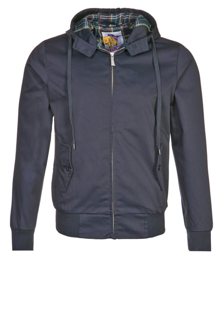 HARRINGTON Kurtka wiosenna marine - HARRINGTON HOODED