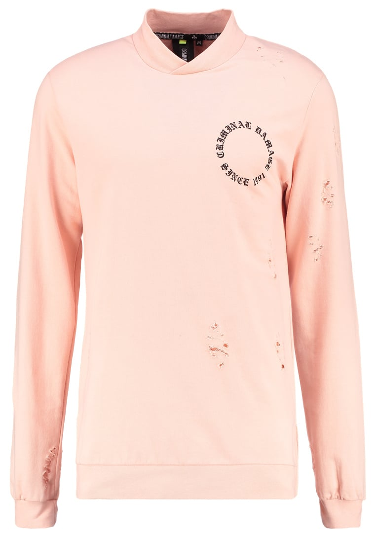 Criminal Damage Bluza pink/multi - 6020818