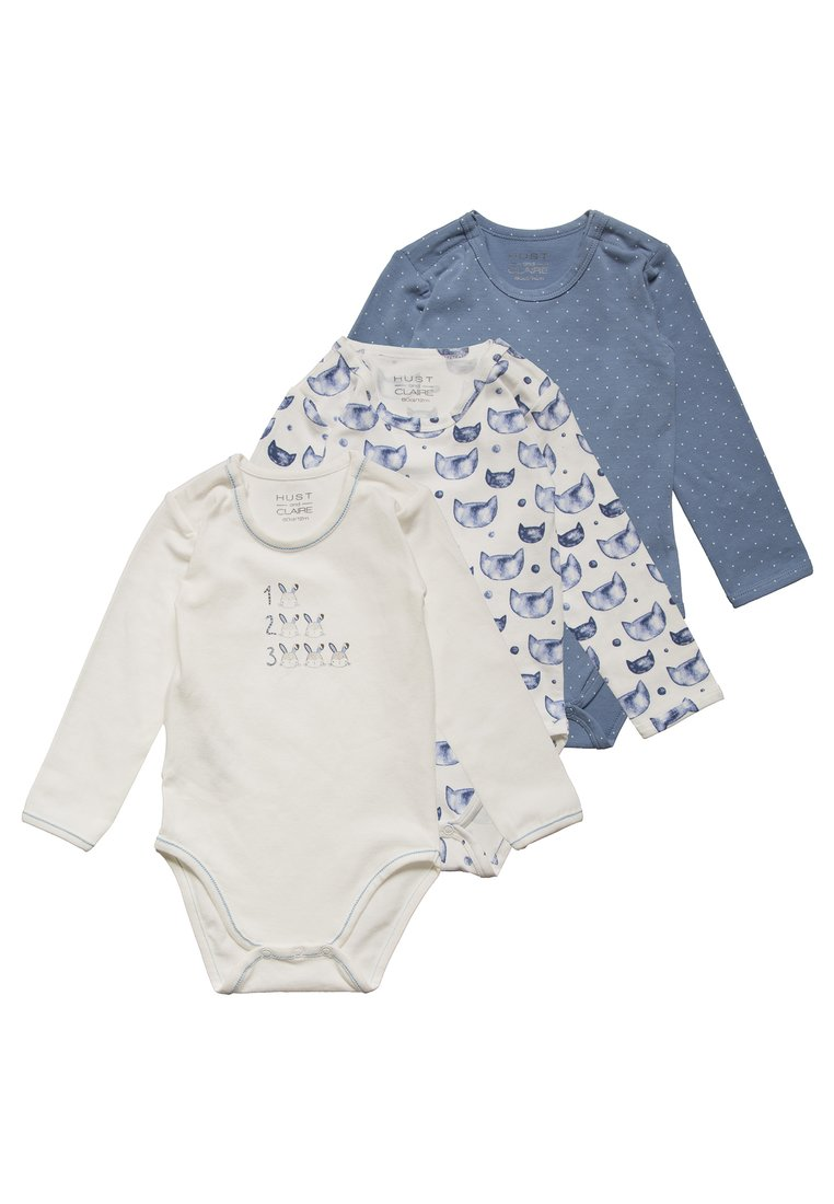 Hust & Claire BABY 3 PACK Body ever blue - 39639637