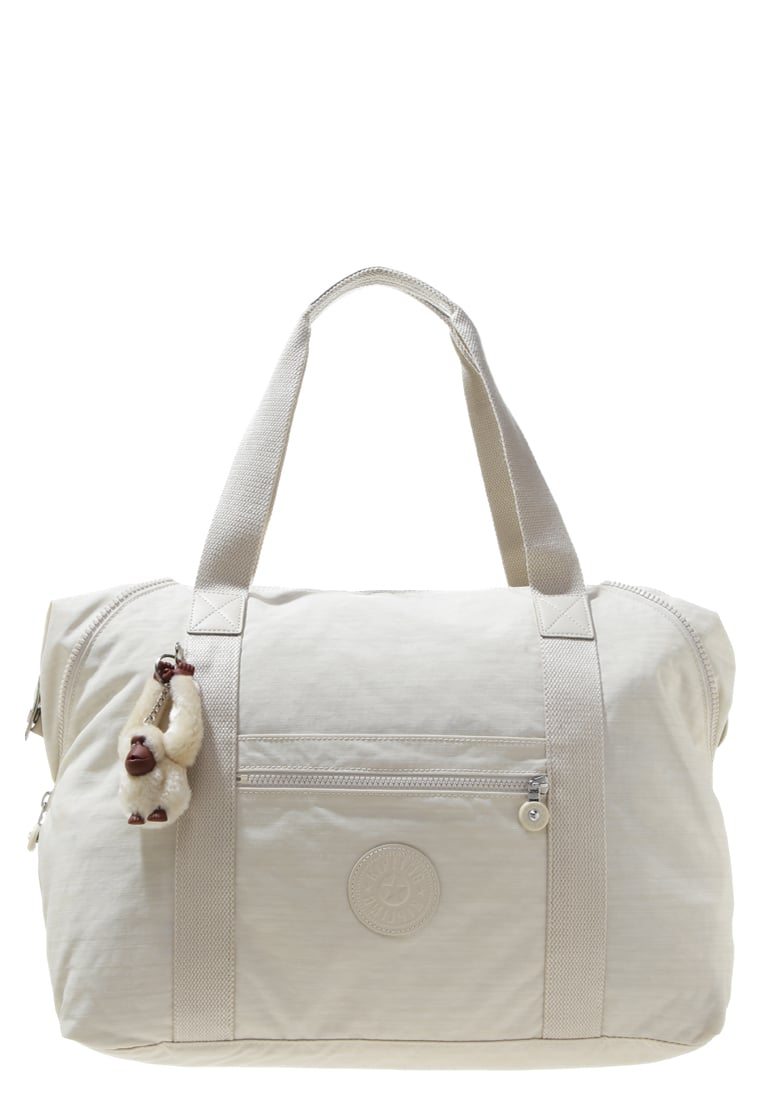 Kipling ART Torba weekendowa dazz cream - K25748