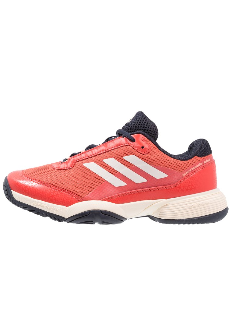 adidas Performance BARRICADE CLUB Buty multicourt night navy/ecru tint/trace scarlet - EFX79