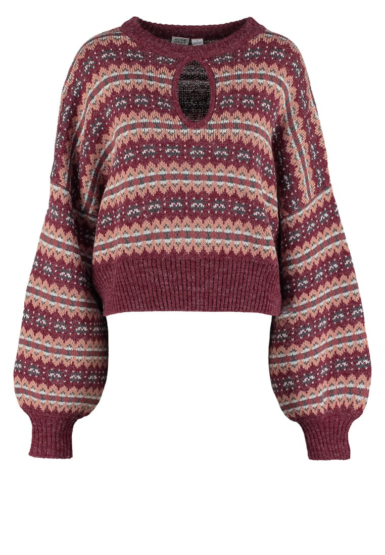 Somedays Lovin MAPLE Sweter pink/red - IL16F1809