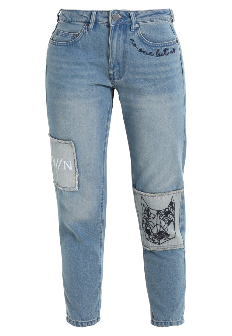 Wåven AKI Jeansy Relaxed fit old used blue mix - AKI