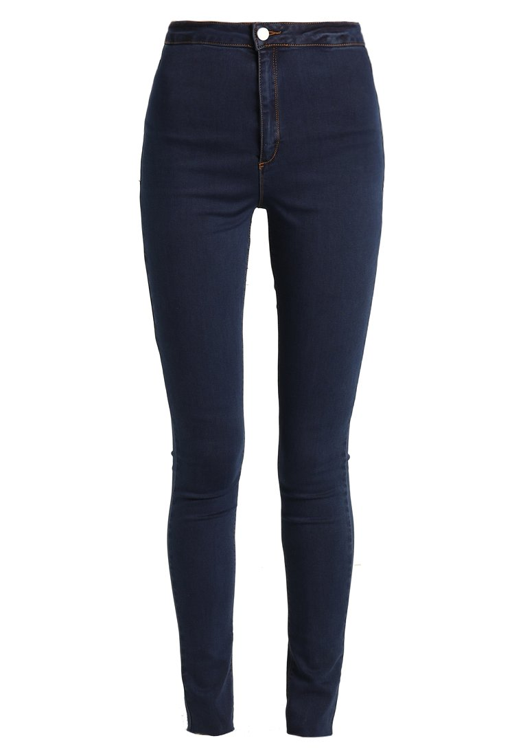 Missguided Tall VICE HIGH WAISTED Jeans Skinny Fit indigo vintage - WSG1802668