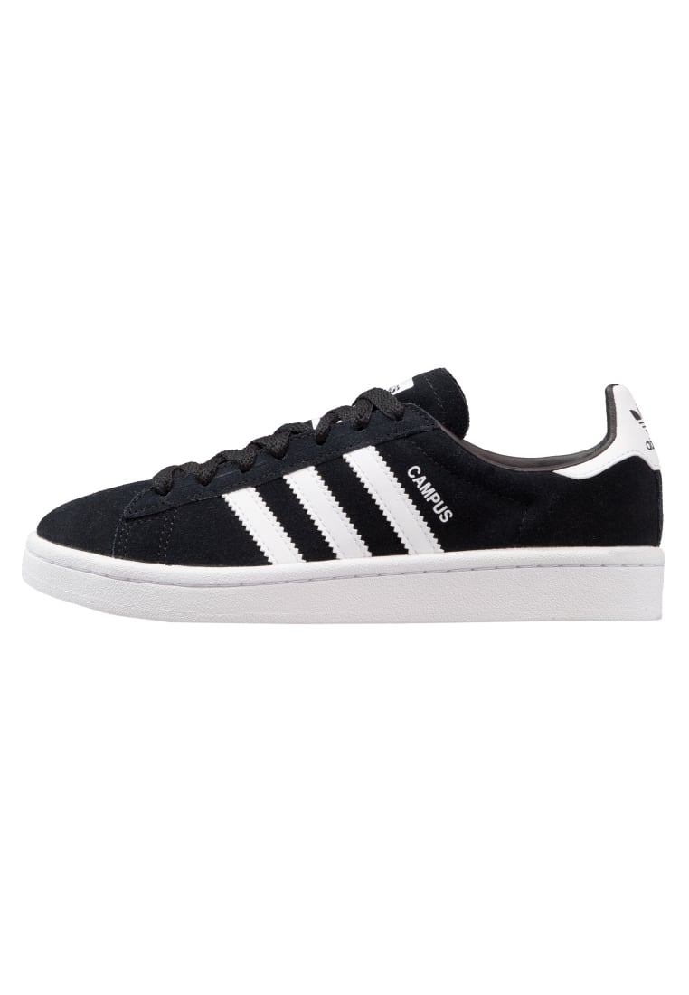 adidas Originals CAMPUS Tenisówki i Trampki core black/white - CEJ14