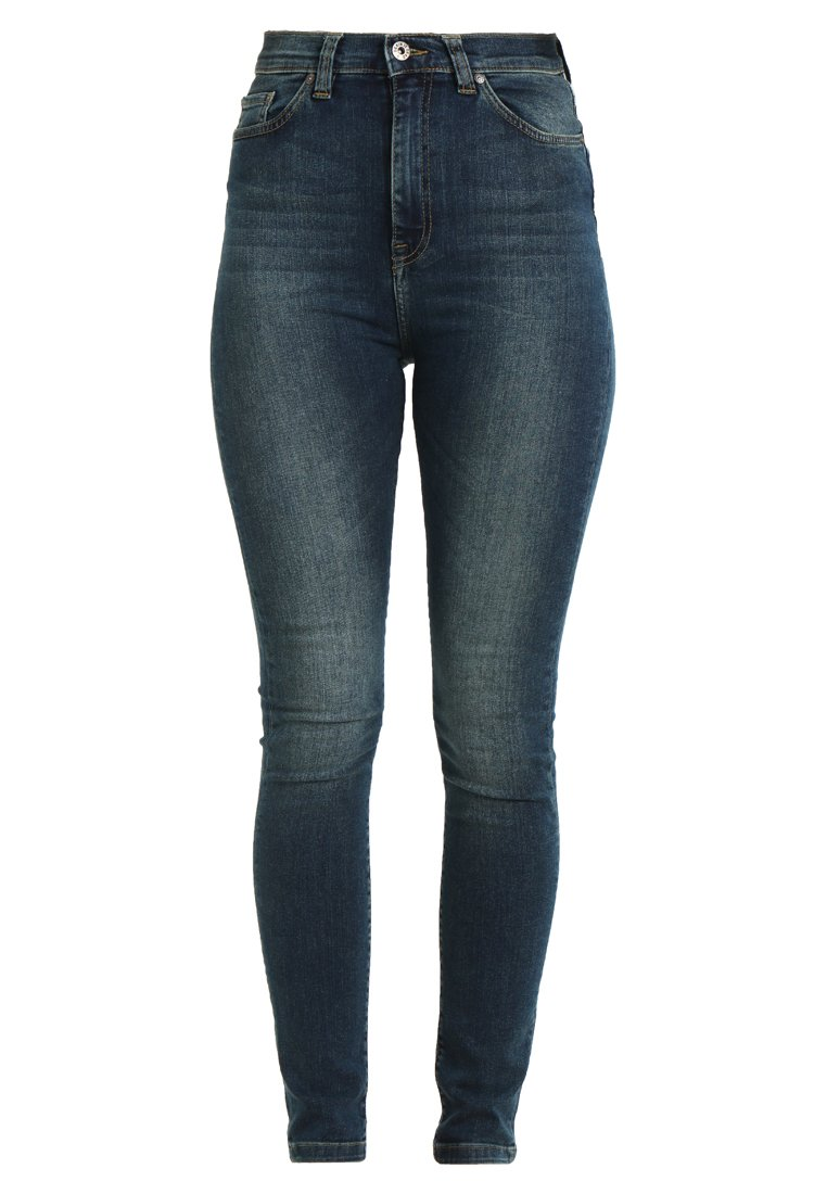 Denim is Dead NAIVE Jeans Skinny Fit mid blue wash - 1018-164