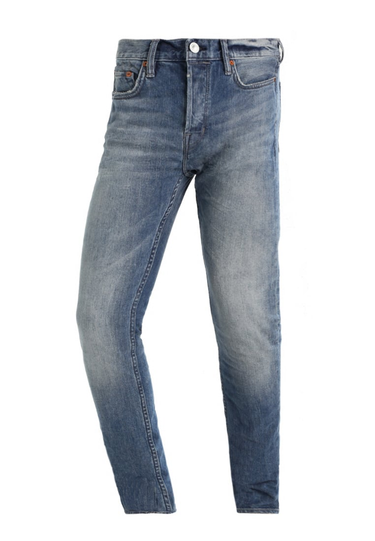 AllSaints INKOM CIGARETTE Jeansy Relaxed fit indigo blue - ME017L