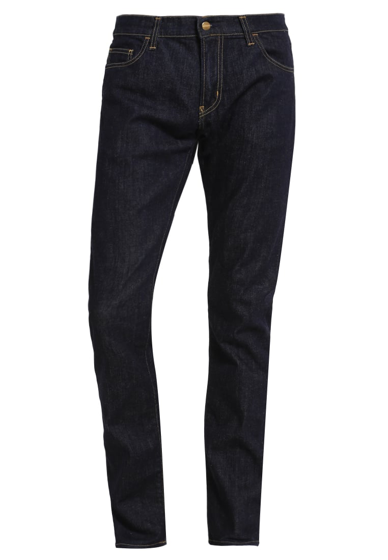 Carhartt WIP REBEL Jeansy Relaxed fit blue rinsed - I015331