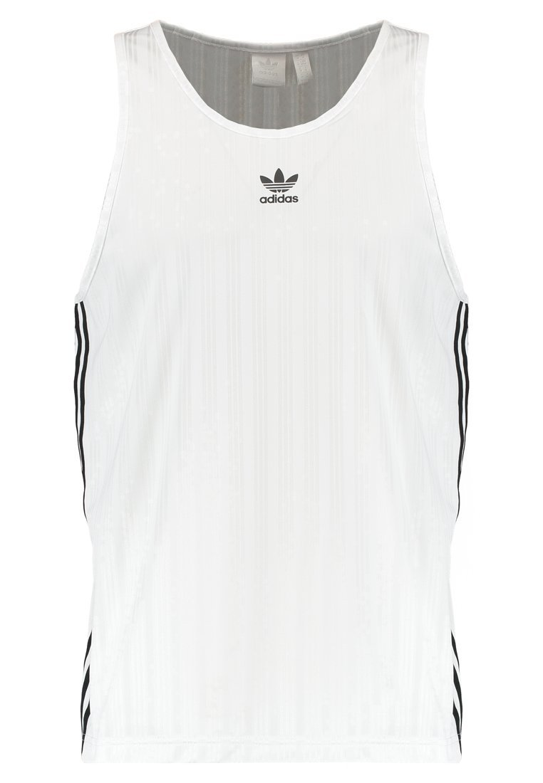 adidas Originals ADICOLOR FOOTBALL Top white - EMX15