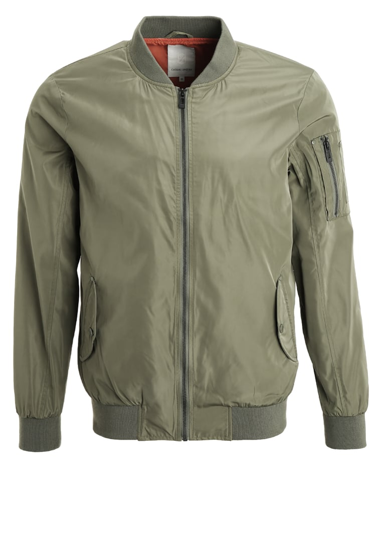 Casual Friday Kurtka Bomber sprout green - 20500689