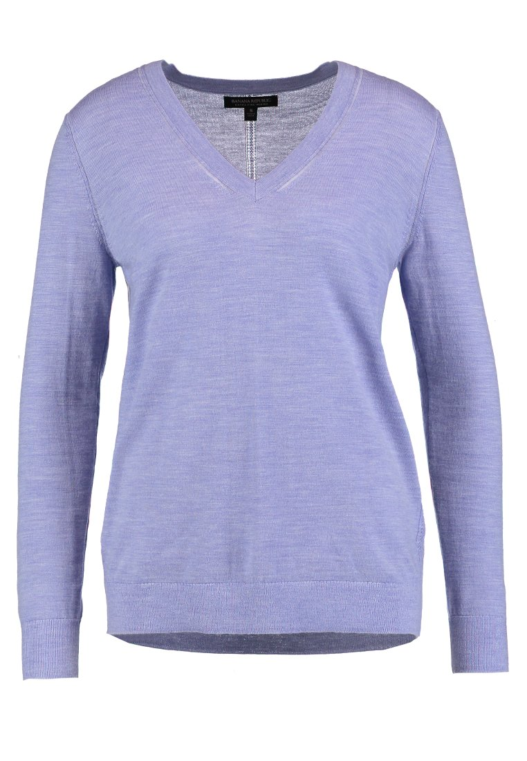 Banana Republic VEE Sweter lavender heather