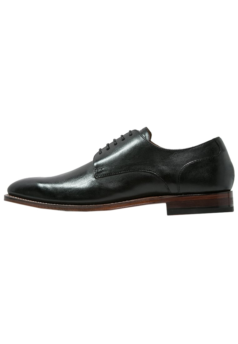 Gordon and Bros MILAN Oksfordki black - 4374 F