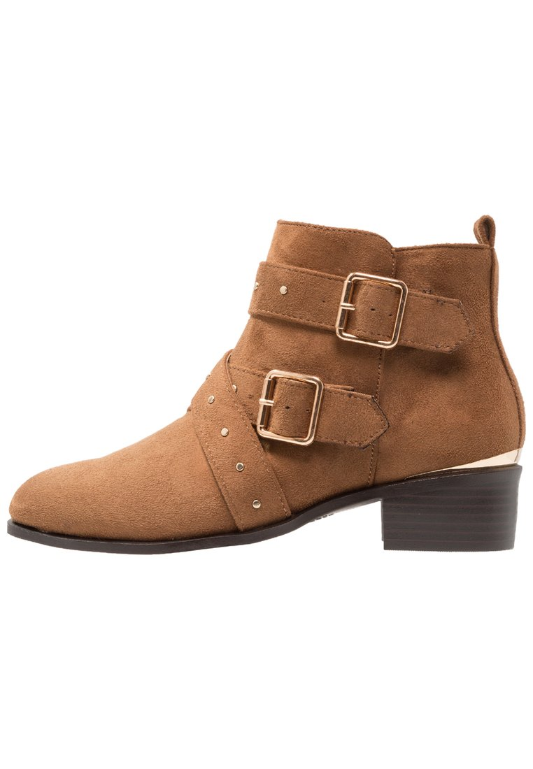 New Look Wide Fit WIDE FIT BUCKROGERS Ankle boot tan - 5547130