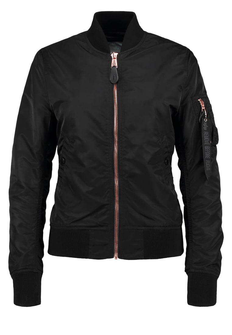 Alpha Industries Kurtka Bomber black/copper - 156001