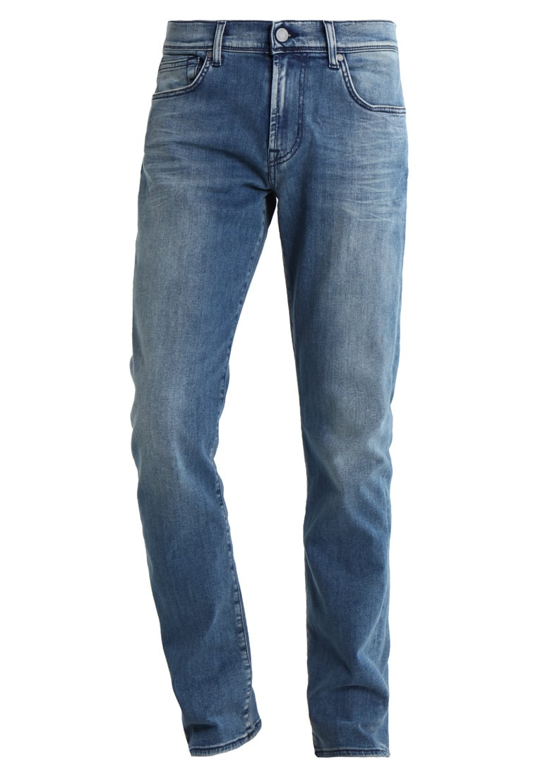 7 for all mankind SLIMMY LUXE PERFORMANCE Jeansy Straight Leg light blue - JSMU450KH
