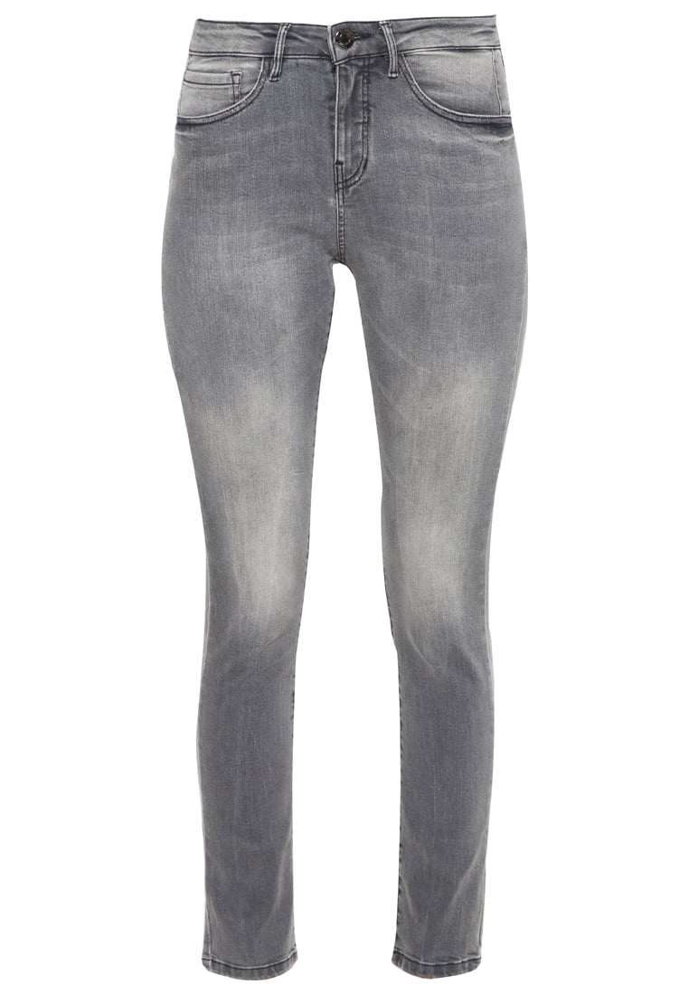 Opus EMILY Jeansy Slim fit light grey - 210903676